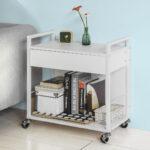 Küchenwagen Servierwagen Sobuy Beistellwagen Rollwagen Mit Schublade Garten Küche Wohnzimmer Küchenwagen Servierwagen