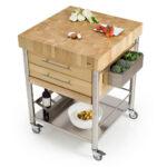 Küchenwagen Edelstahl Edelstahlküche Gebraucht Garten Outdoor Küche Wohnzimmer Küchenwagen Edelstahl