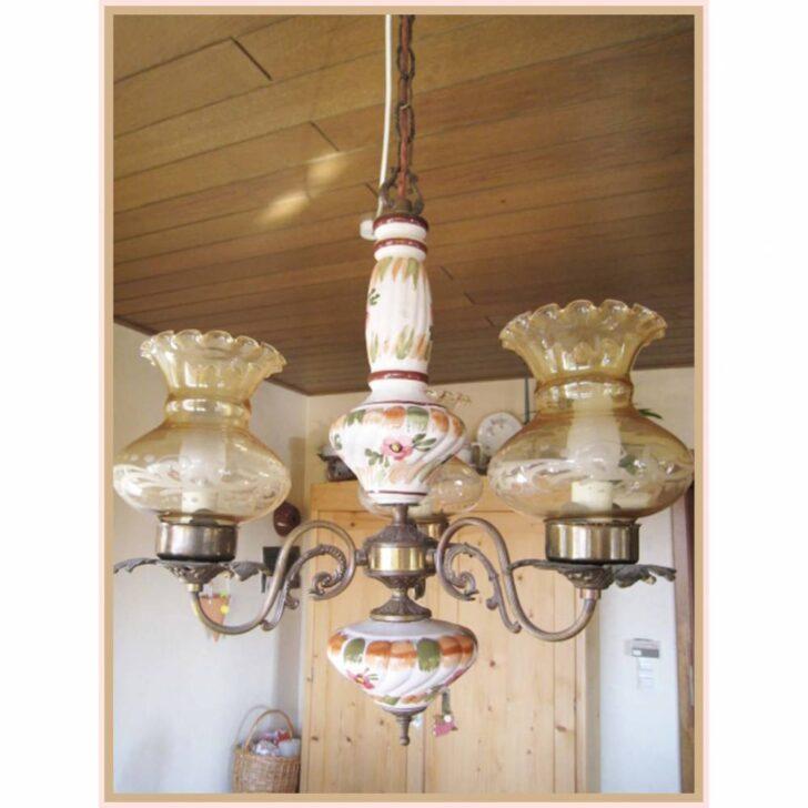 Medium Size of Vintage Deckenleuchte Handgemalte Aus Keramik Mit Deckenleuchten Wohnzimmer Led Bad Bett Schlafzimmer Modern Küche Badezimmer Wohnzimmer Vintage Deckenleuchte