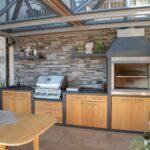 Individuelle Outdoor Kche Aus Holz Laminat Küche Aufbewahrungsbehälter Unterschränke Günstige Mit E Geräten Arbeitsplatten Wandsticker Singleküche Wohnzimmer Gemauerte Küche