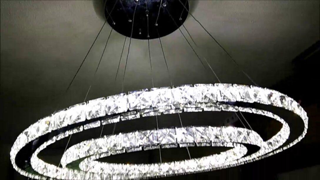Large Size of Deckenlampe Led Dimmbar 50w 2 Ringe Kristall Deckenleuchte Farbtemperatur Leder Sofa Schlafzimmer Küche Bad Wildleder Lampen Wohnzimmer Wohnzimmer Deckenlampe Led Dimmbar