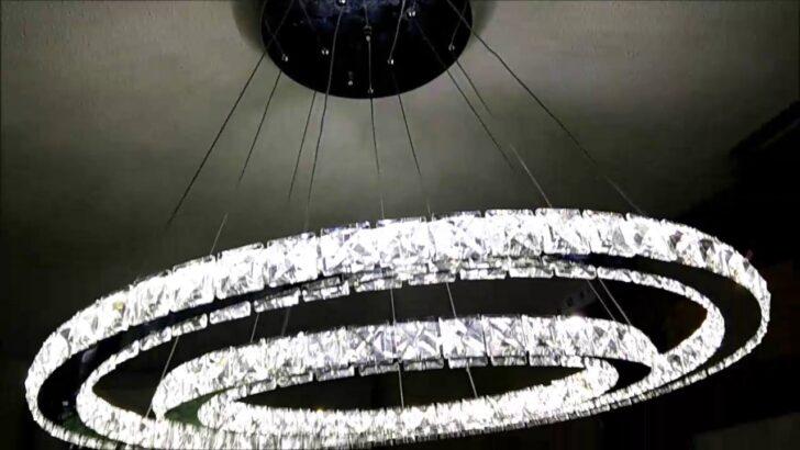 Medium Size of Deckenlampe Led Dimmbar 50w 2 Ringe Kristall Deckenleuchte Farbtemperatur Leder Sofa Schlafzimmer Küche Bad Wildleder Lampen Wohnzimmer Wohnzimmer Deckenlampe Led Dimmbar