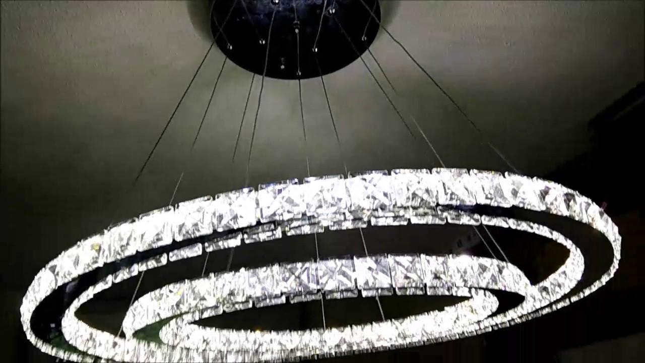 Full Size of Deckenlampe Led Dimmbar 50w 2 Ringe Kristall Deckenleuchte Farbtemperatur Leder Sofa Schlafzimmer Küche Bad Wildleder Lampen Wohnzimmer Wohnzimmer Deckenlampe Led Dimmbar