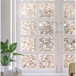 Fensterfolie Blickdicht 3d Statisch Selbsthaftend Sichtschutzfolie Wohnzimmer Fensterfolie Blickdicht