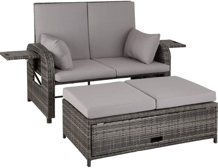 Medium Size of Garten Sofa 2 Sitzer Vidaxl Gartensofa 2 Sitzer Massivholz Akazie Couch Polyrattan Rattan Ausziehbar Aluminium Amazonde Tectake 800714 Lounge 2er Bett 1 40x2 Wohnzimmer Gartensofa 2 Sitzer