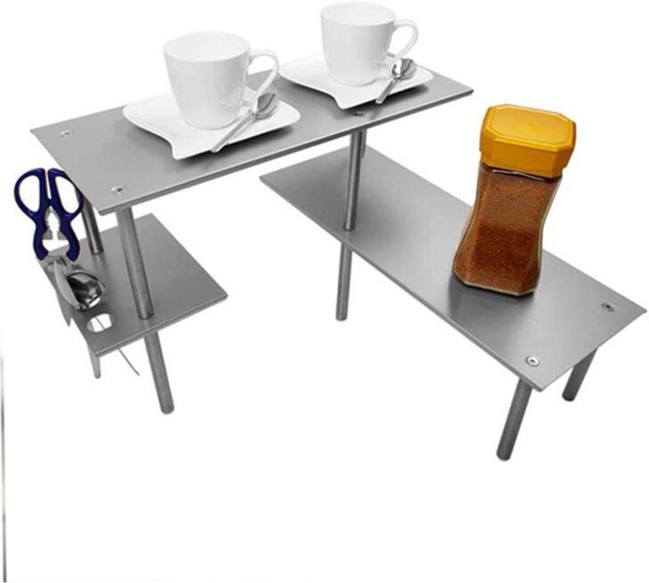 Medium Size of Ikea Edelstahlküche 2 Stufig Edelstahl Kche Ecke Ablage Amazonde Haushalt Gebraucht Küche Kosten Miniküche Betten Bei 160x200 Kaufen Modulküche Sofa Mit Wohnzimmer Ikea Edelstahlküche