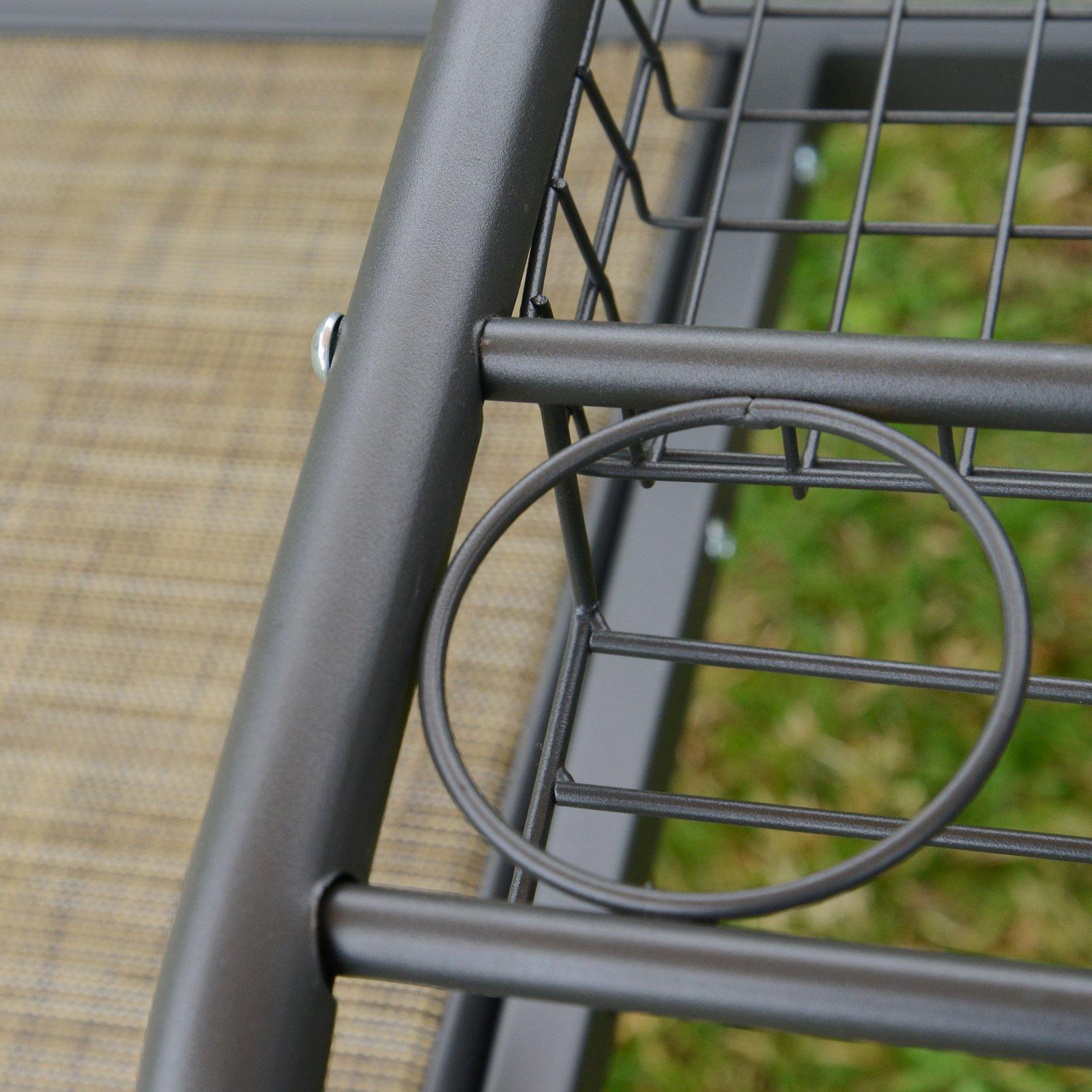 Full Size of Gartenschaukel Metall Regal Regale Bett Weiß Wohnzimmer Gartenschaukel Metall