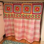 Küchenvorhang Wohnzimmer Küchenvorhang Mein Kchenvorhang Genht Mit Gehkelt Granny Square Bunt Vintage
