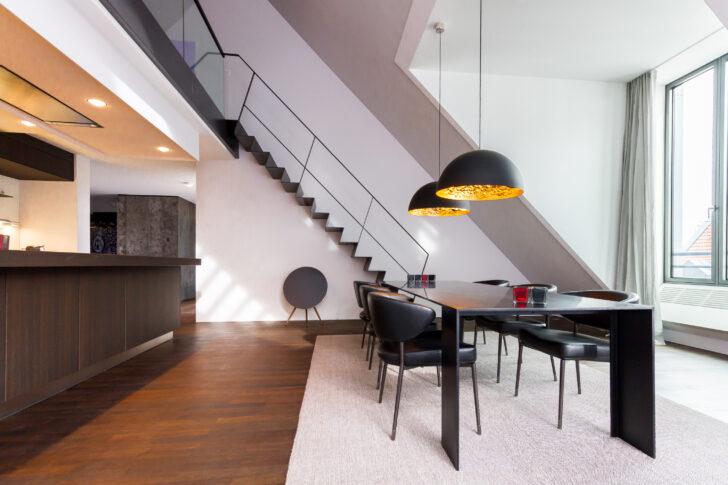 Medium Size of Dachgeschosswohnung Einrichten Umbau Einer Muenchenarchitektur Badezimmer Kleine Küche Wohnzimmer Dachgeschosswohnung Einrichten