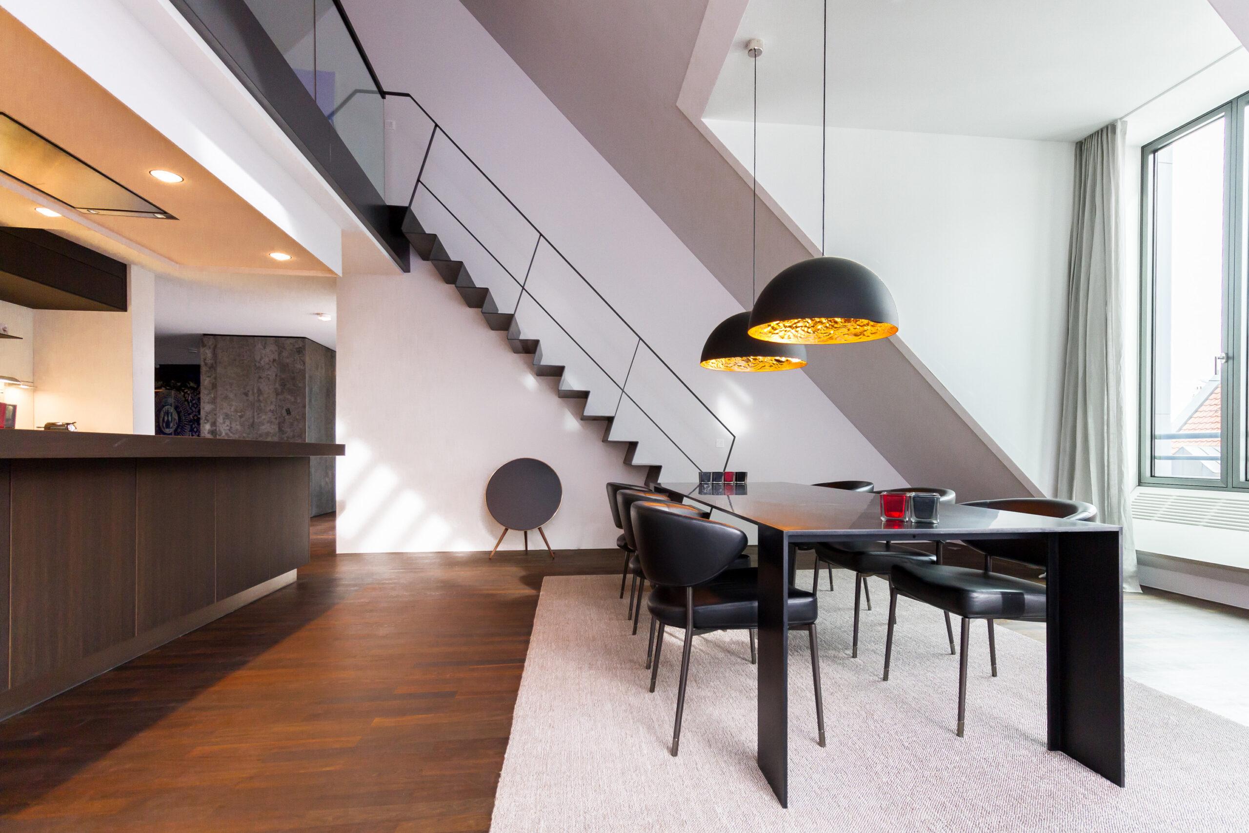 Full Size of Dachgeschosswohnung Einrichten Umbau Einer Muenchenarchitektur Badezimmer Kleine Küche Wohnzimmer Dachgeschosswohnung Einrichten