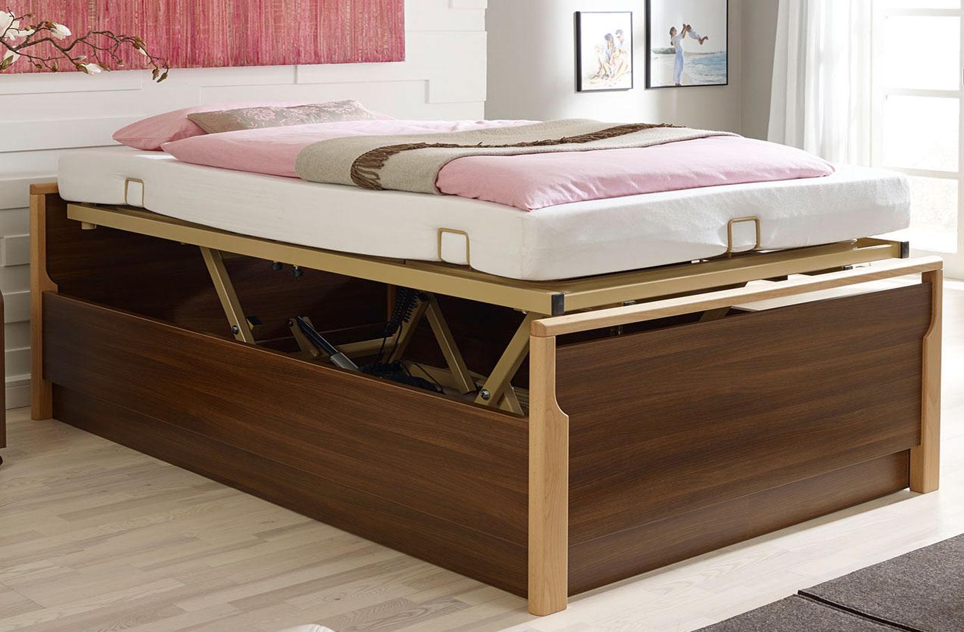 Full Size of Bett Mit Schubladen 90x200 Weiß Lattenrost Weißes Kiefer Bettkasten Betten Und Matratze Wohnzimmer Seniorenbett 90x200