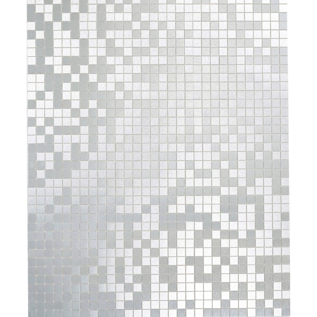 Large Size of Selbstklebende Fliesen Mosaikmatte Selbstklebend Alu Gebrstet Silber 29 Cm Küche Fliesenspiegel Wandfliesen Glas Für Dusche Bodenfliesen Bad Renovieren Ohne Wohnzimmer Selbstklebende Fliesen