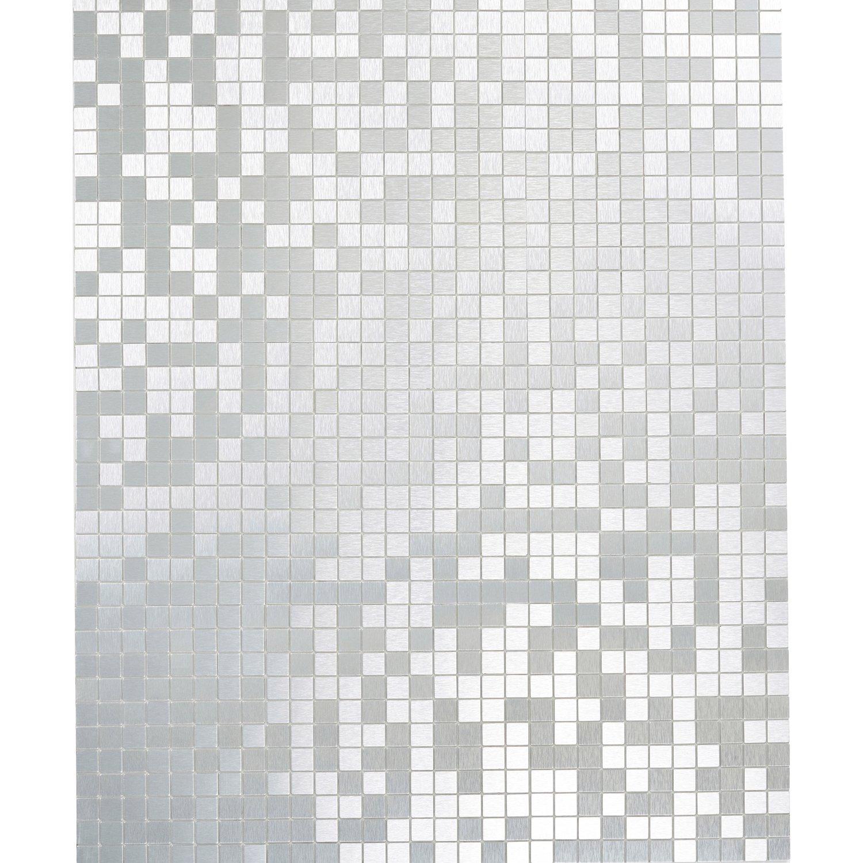 Full Size of Selbstklebende Fliesen Mosaikmatte Selbstklebend Alu Gebrstet Silber 29 Cm Küche Fliesenspiegel Wandfliesen Glas Für Dusche Bodenfliesen Bad Renovieren Ohne Wohnzimmer Selbstklebende Fliesen