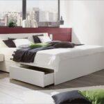 Stauraumbett 200x200 Wohnzimmer Stauraumbett Bett 200x200 Weiß Mit Bettkasten Betten Komforthöhe Stauraum