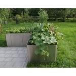 Edelstahl Hochbeet Corner 163 50cm Hhe Garten Edelstahlküche Gebraucht Outdoor Küche Wohnzimmer Hochbeet Edelstahl