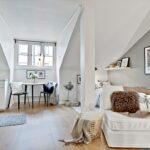 Dachgeschosswohnung Einrichten Wohnzimmer Dachgeschosswohnung Einrichten Kleine Aber Feine 1 Zimmer Wohnung Designs2love Küche Badezimmer