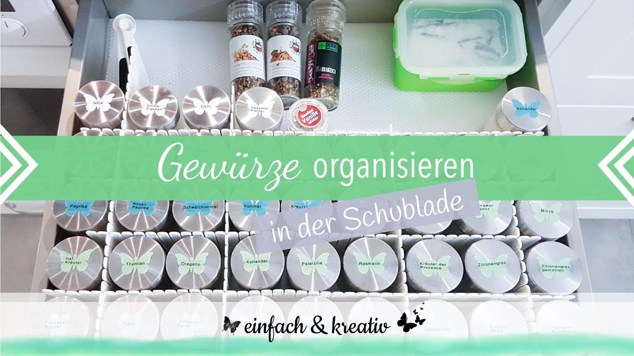 Full Size of Gewürze Schubladeneinsatz Küche Wohnzimmer Gewürze Schubladeneinsatz