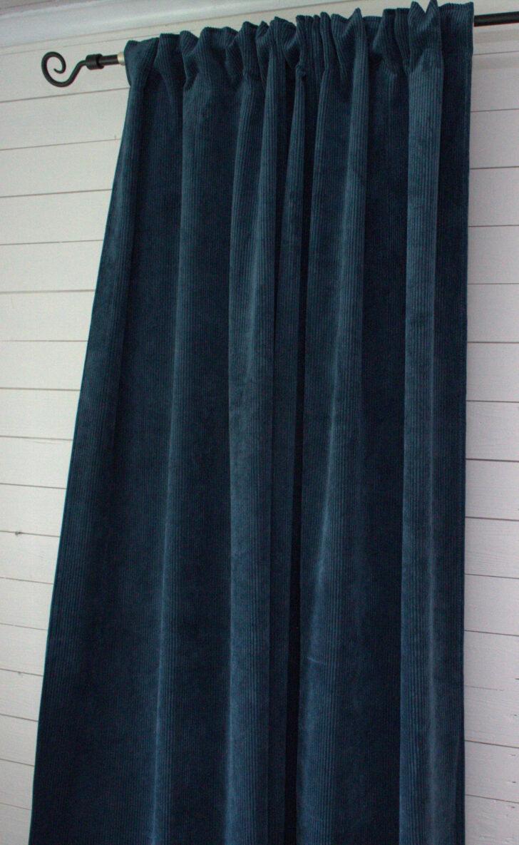 Medium Size of Vorhang Suna Samt Kord Petrol 140x250 Cm 2 Stck Blickdicht Scheibengardinen Küche Wohnzimmer Scheibengardinen Blickdicht