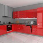 Kche Vario Ecke Iii 210x330 Cm Kchenzeile In Hochglanz Rot Deckenleuchte Schlafzimmer Moderne Wohnzimmer Deckenleuchten Bad Deckenlampen Keramik Waschbecken Wohnzimmer Spülbecken Ecke