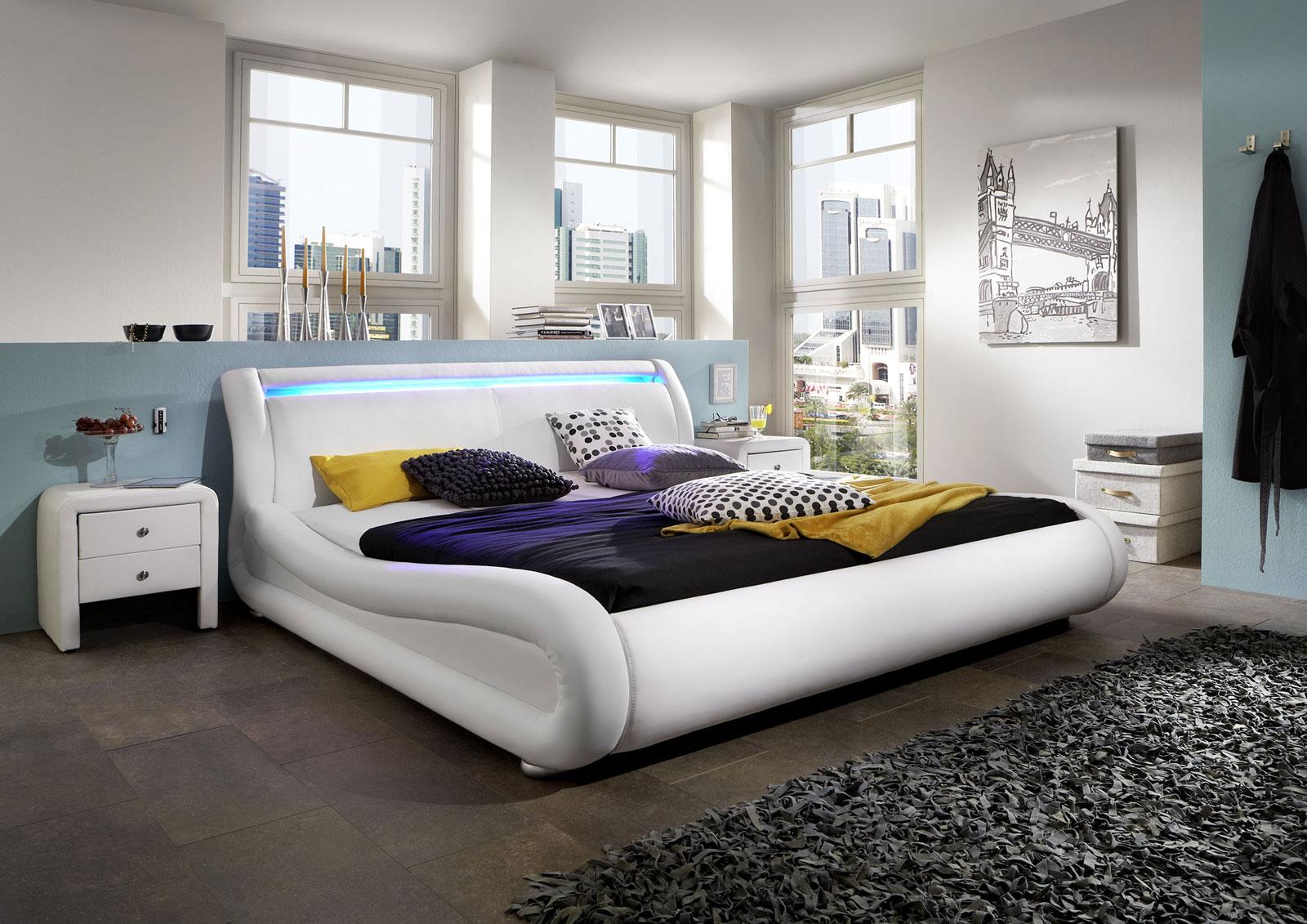 Full Size of Polsterbett 200x220 200 220 Cm Wei Clip Led Gnstig Betten Bett Wohnzimmer Polsterbett 200x220