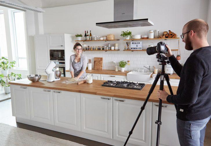 Medium Size of Kchen Tour So Sieht Es Bei Springlane Hinter Den Kulissen Aus Küchen Regal Wohnzimmer Küchen Quelle