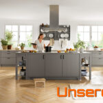 Küche Zweifarbig Landhausstil Einbauküche Kaufen Einrichten Blende Einzelschränke Deckenleuchte Landhaus Wasserhahn Für Wandanschluss Einlegeböden Wohnzimmer Küche Zweifarbig