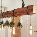 Wohnzimmer Lampe Selber Bauen Deckenlampe Zum Dieser Holzbalken Sorgt Fr Licht Deckenlampen Für Schrankwand Teppich Tapeten Ideen Decken Esstisch Schrank Wohnzimmer Wohnzimmer Lampe Selber Bauen