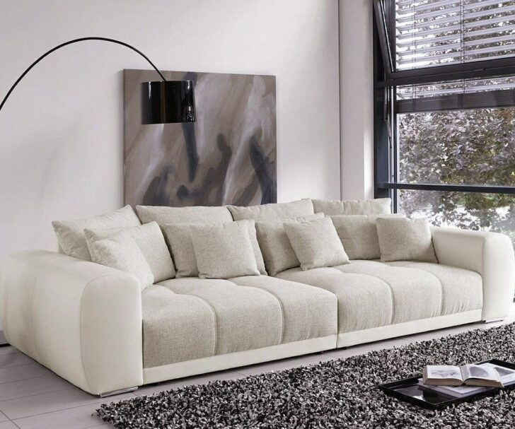 Big Sofa L Form Bigsofa Valeska Grau Beige Couch 310x135 Cm Mit 12 Kissen Küche Insel Bad Honnef Hotel Vinylboden Dreisitzer Regal 40 Breit Nobilia Amazon Wohnzimmer Big Sofa L Form