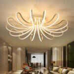 Wohnzimmer Led Lampe Wohnzimmer Wohnzimmer Led Lampe Waineg Designer Moderne Leddeckenleuchten Vorhänge Deckenlampe Deckenlampen Decke Modern Stehlampe Bilder Xxl Lampen Deckenleuchte