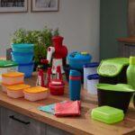 Küchen Aufbewahrungsbehälter Kcheco Green Day Kche Designed Fr Tupperware 3 Kchen Journal Küche Regal Wohnzimmer Küchen Aufbewahrungsbehälter