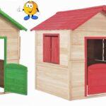 Kinderspielhaus Holz Wohnzimmer Kinderspielhaus Holz Spielhaus Aus In 2 Farben Neu Shopcom Regale Esstisch Holzplatte Sofa Mit Holzfüßen Modulküche Garten Bad Waschtisch Massiv Esstische