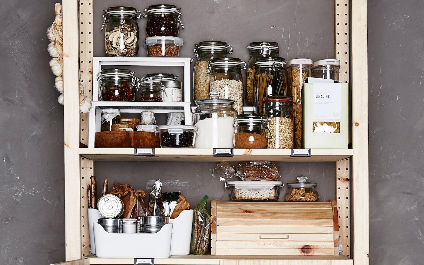 Full Size of Lebensmittelaufbewahrung Tipps Ideen Ikea Deutschland Küche Industrielook Ohne Geräte Waschbecken Kaufen Einzelschränke Gardine Mit Elektrogeräten Wohnzimmer Aufbewahrungsideen Küche