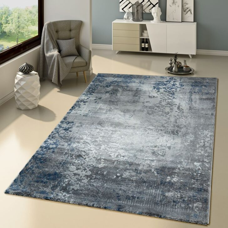 Medium Size of Teppich Modern Orient Muster Jeans Blau Teppichmax Wohnzimmer Tapete Moderne Deckenleuchte Deckenlampen Für Modernes Bett Küche Stehlampen Wandtattoo Kamin Wohnzimmer Teppich Wohnzimmer Modern