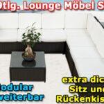 19tlg Gartenmbel Loungeset Lounge Garten Garnitur Schwarz Günstige Schlafzimmer Essgruppe Aufbewahrungsbox Sitzbank Sofa Und Landschaftsbau Berlin Komplett Wohnzimmer Garten Lounge Günstig