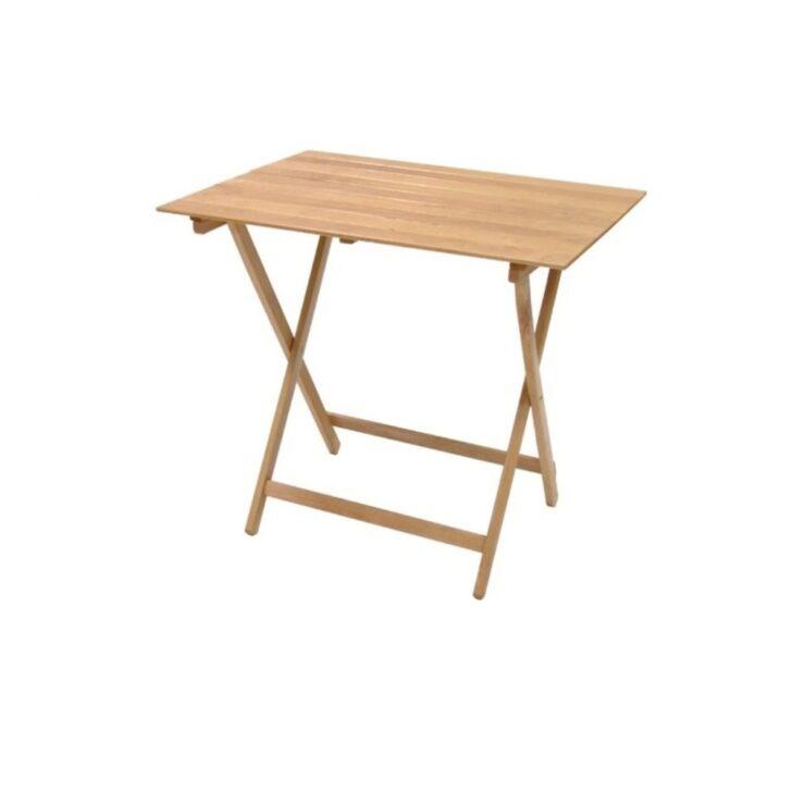Medium Size of Balkontisch Klappbar Tisch Raumsparend In Buche Natrliche Pic Nic 80 60 Bett Ausklappbar Ausklappbares Wohnzimmer Balkontisch Klappbar