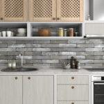 Kchenrckwand Folie Beton Premium 0 Laminat Für Bad In Der Küche Badezimmer Fürs Im Wohnzimmer Küchenrückwand Laminat