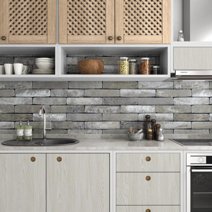 Medium Size of Kchenrckwand Folie Beton Premium 0 Laminat Für Bad In Der Küche Badezimmer Fürs Im Wohnzimmer Küchenrückwand Laminat