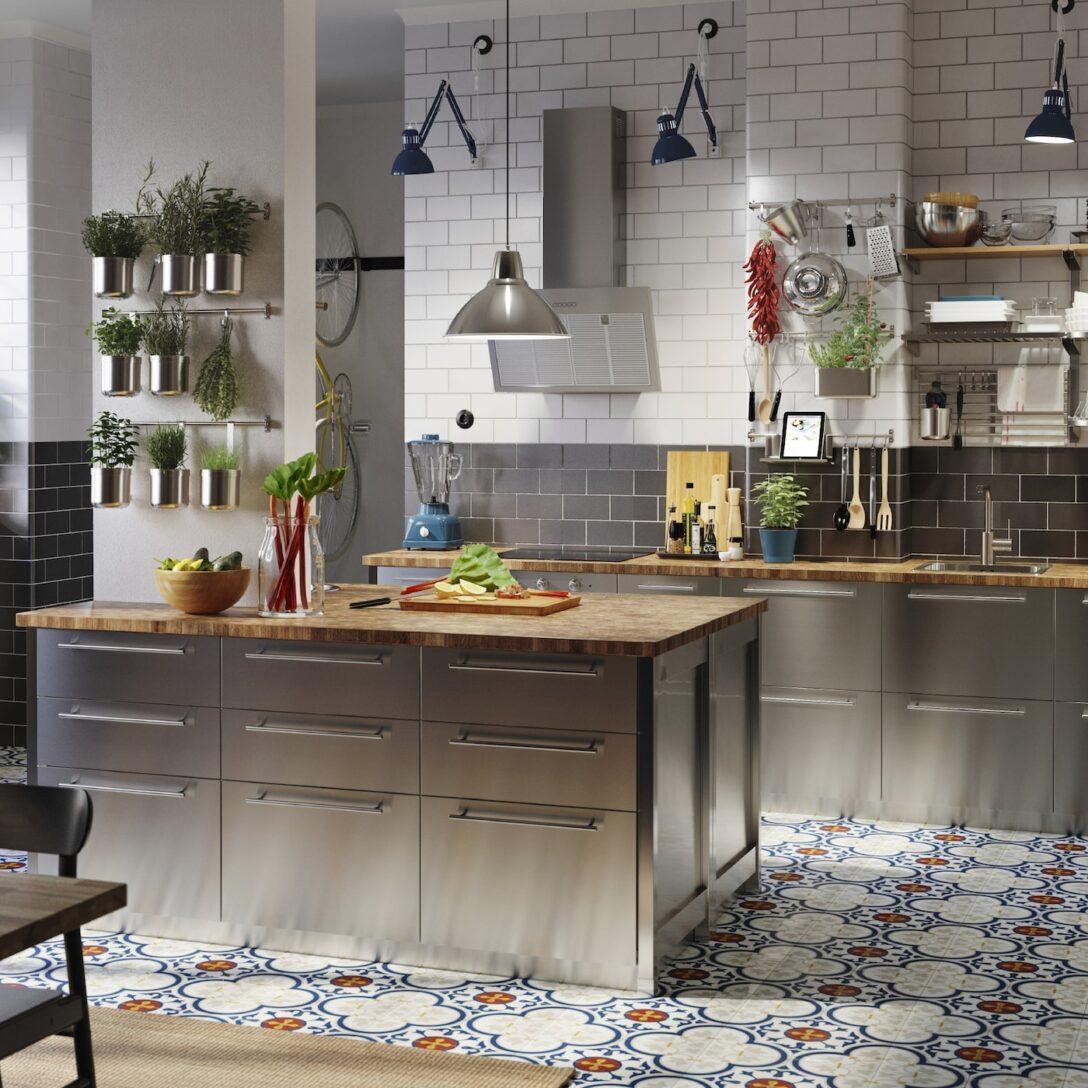 Large Size of Ikea Edelstahlküche Küche Kaufen Gebraucht Miniküche Kosten Betten 160x200 Modulküche Bei Sofa Mit Schlaffunktion Wohnzimmer Ikea Edelstahlküche
