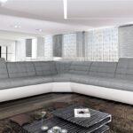 Großes Ecksofa Wohnzimmer Bmf Infinity S 6 Sitzer Sofa Ecksofa Garten Bezug Mit Ottomane Großes Regal Bett Bild Wohnzimmer