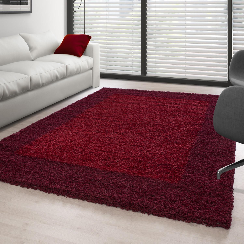 Full Size of Hochflor Langflor Wohnzimmer Shaggy Teppich 2 Farbig Rot Und Bordeaux Esstisch Schlafzimmer Badezimmer Für Küche Steinteppich Bad Teppiche Wohnzimmer Teppich 300x400