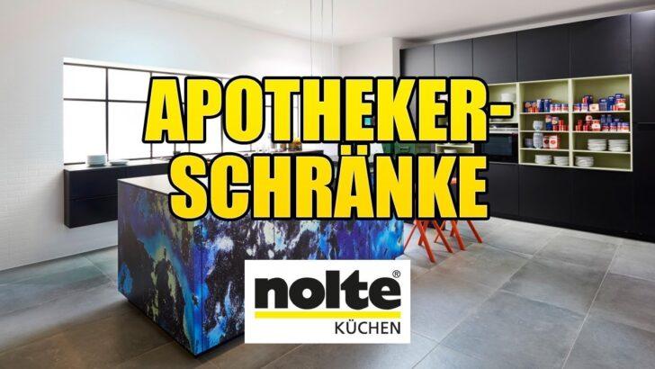 Medium Size of Nolte Apothekerschrank Kchen Apothekerschrnke Youtube Küche Betten Schlafzimmer Wohnzimmer Nolte Apothekerschrank