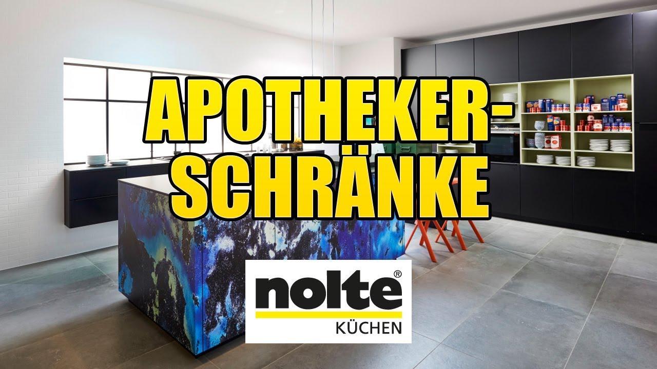 Full Size of Nolte Apothekerschrank Kchen Apothekerschrnke Youtube Küche Betten Schlafzimmer Wohnzimmer Nolte Apothekerschrank