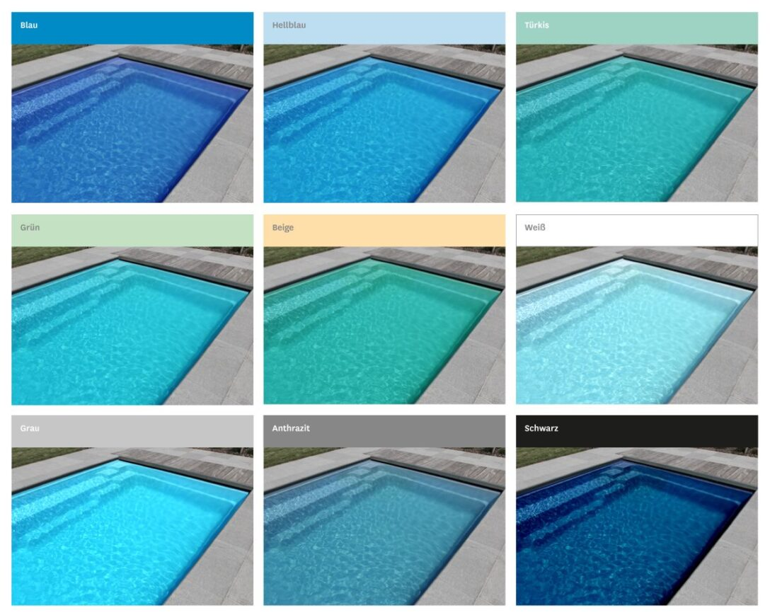 Large Size of Gfk Pool Rund Beliebte Poolfarben In Der Bersicht Piscine Amnagement Runde Fenster Runder Esstisch Esstische Sri Lanka Rundreise Und Baden Schwimmingpool Für Wohnzimmer Gfk Pool Rund