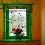 Raum Mbelkunst Hkeln Hippie Gardine Gardinen Für Die Küche Wohnzimmer Scheibengardinen Schlafzimmer Fenster Wohnzimmer Häkelmuster Gardine