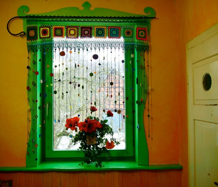 Medium Size of Raum Mbelkunst Hkeln Hippie Gardine Gardinen Für Die Küche Wohnzimmer Scheibengardinen Schlafzimmer Fenster Wohnzimmer Häkelmuster Gardine