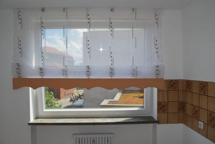 Medium Size of Küchenfenster Gardinen Hellbrauner Ziehvorhang Mit Wellenschabracke Fr Kche Http Schlafzimmer Für Die Küche Wohnzimmer Fenster Scheibengardinen Wohnzimmer Küchenfenster Gardinen