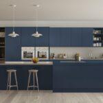 Küche Blau Wohnzimmer Küche Blau Blaue Kchen Kchendesignmagazin Lassen Sie Sich Inspirieren Glaswand Holzküche Wasserhähne Sitzgruppe Apothekerschrank Singelküche Blaues Sofa