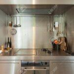 Küche Edelstahl Wohnzimmer Küche Domestic Kche Einhebelmischer Industrial Gebraucht Theke Weiß Hochglanz Musterküche Möbelgriffe Nischenrückwand U Form Sonoma Eiche Industrielook