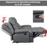 Fernsehsessel Tv Sessel Liegesessel Relaxsessel Liegefunktion 180 Sofa Mit Verstellbarer Sitztiefe Wohnzimmer Liegesessel Verstellbar