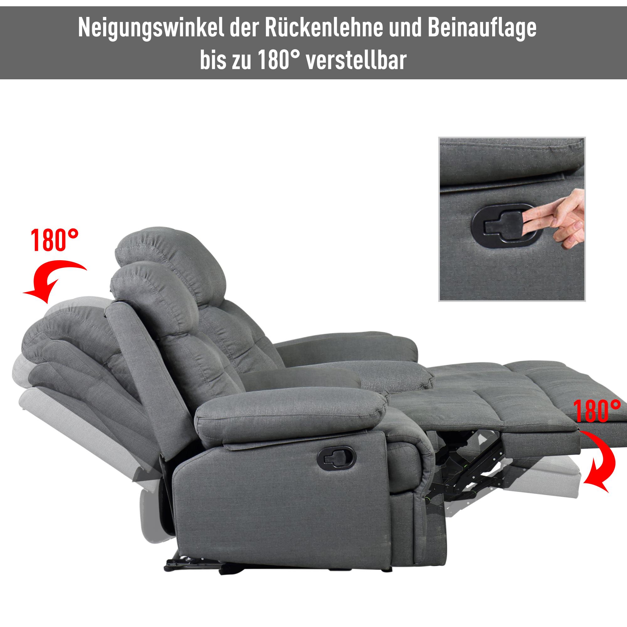 Full Size of Fernsehsessel Tv Sessel Liegesessel Relaxsessel Liegefunktion 180 Sofa Mit Verstellbarer Sitztiefe Wohnzimmer Liegesessel Verstellbar